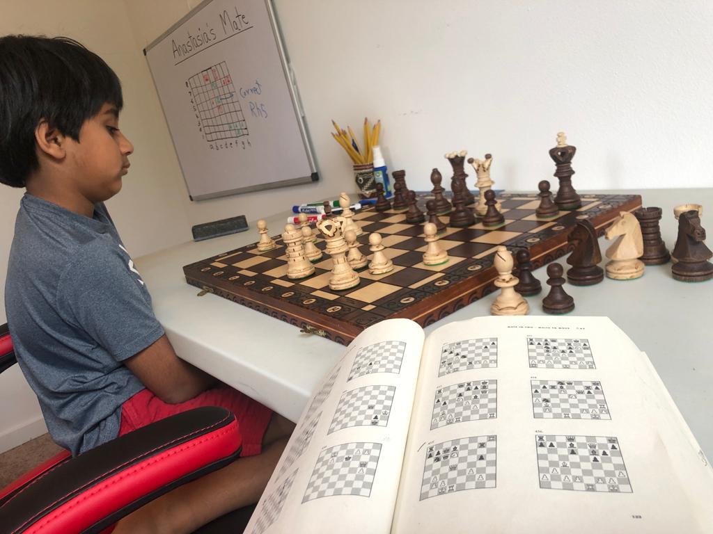 Neel Yadatore chess