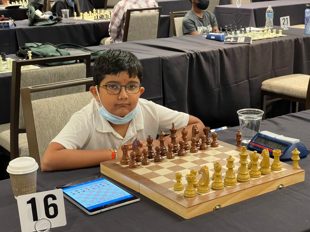 Priyansh Garg chess